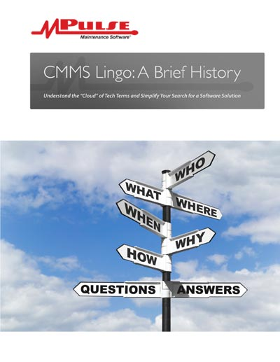CMMS Technology Lingo - A Brief History