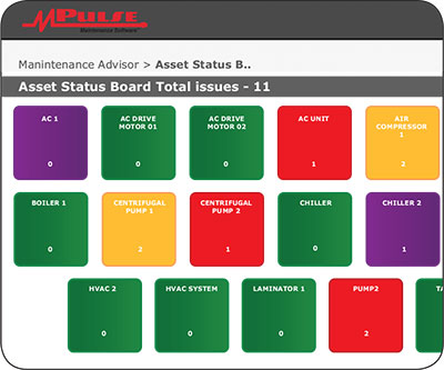 MPulse Asset Status Board for CMMS