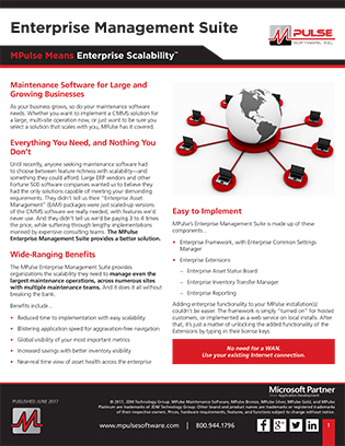 Enterprise Management Suite (EMS) Datasheet