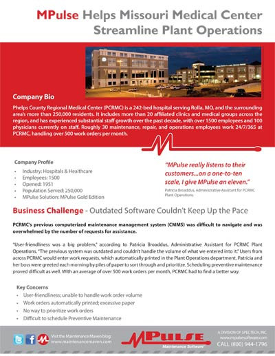 Customer Success Story: Phelps County Regional Medical Center